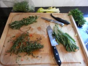 Fresh herbs are so healthy and delicious!