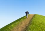 Running uphill